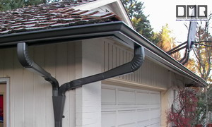 how to connect two downspouts together