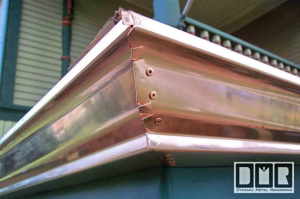 The Kistler S Copper Gutter Work Photopage 6
